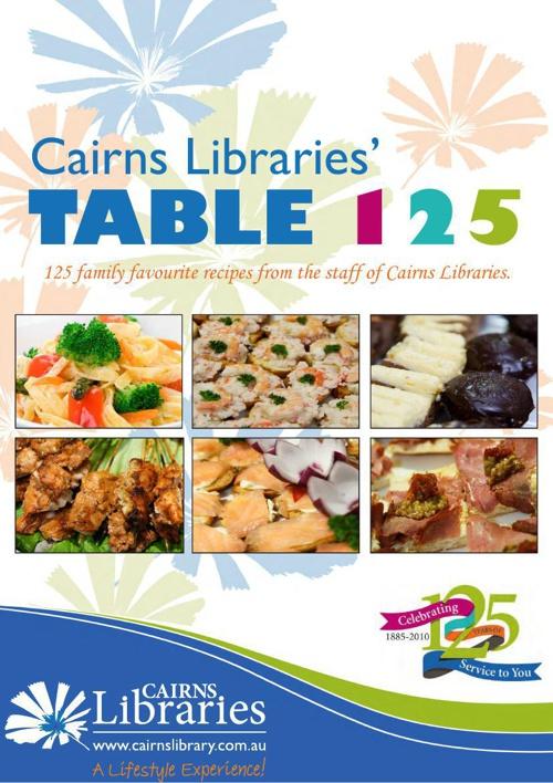 Table 125 Library e-Cookbook