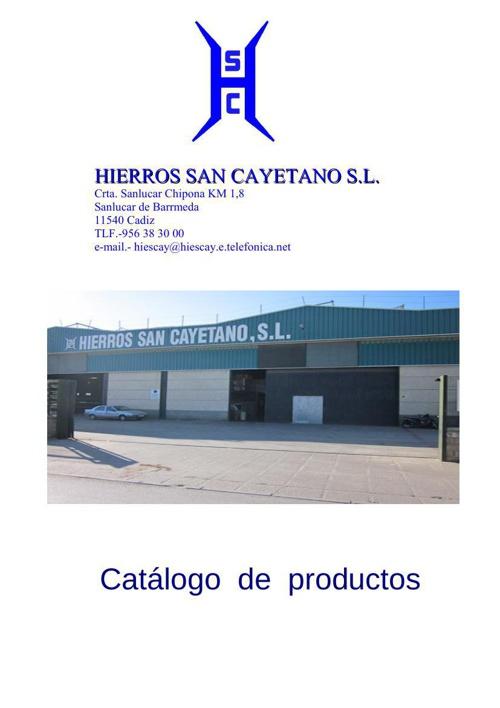 catalogo hierros,mallas,chapas,paneles
