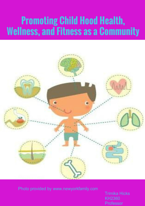 Health and wellness news letter