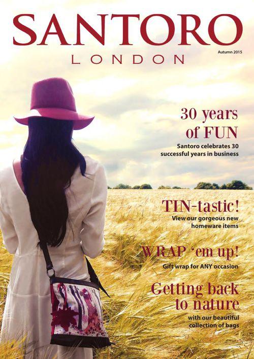Santoro Autumn Magazine