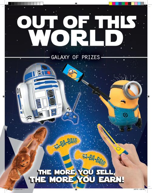 Out of this world prizes_limo