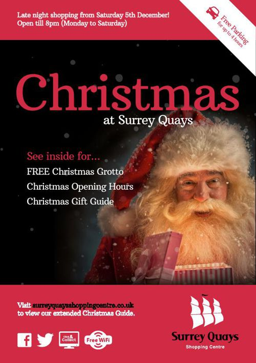 Christmas at Surrey Quays