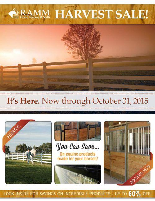 October 2015 sale flyer