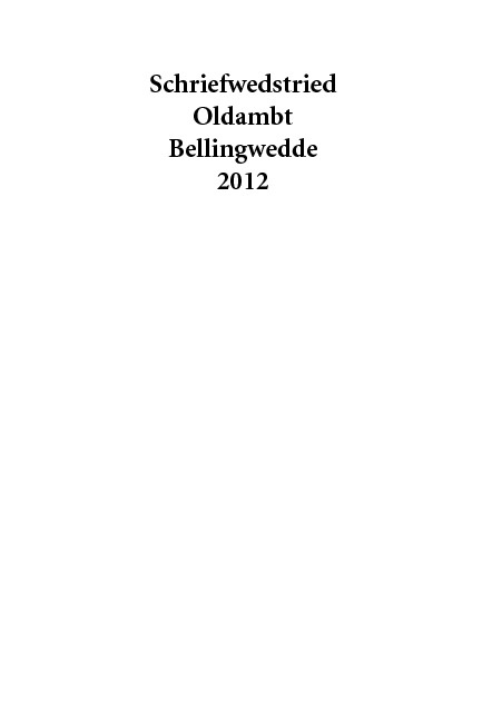 Oldambtster Grunneger Schriefwedstried