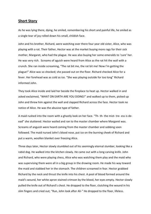 Short Story - PDF