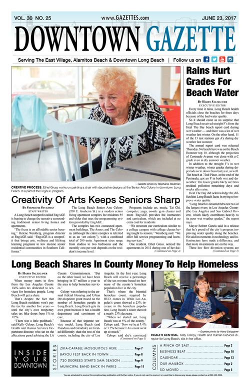 Downtown Gazette  |  June 23, 2017