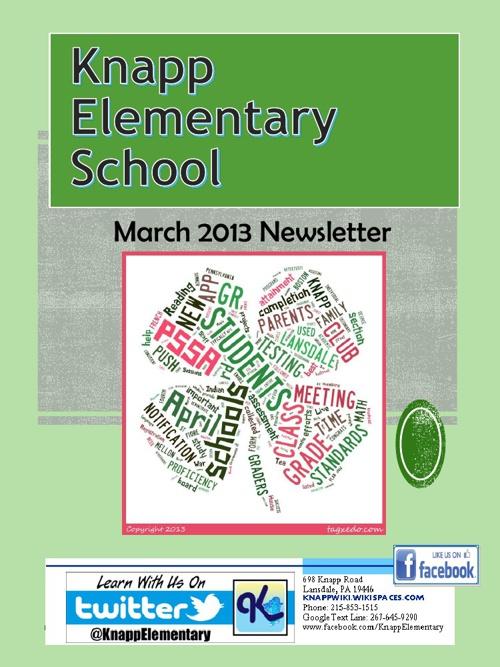 Knapp eNewsletter March 2013