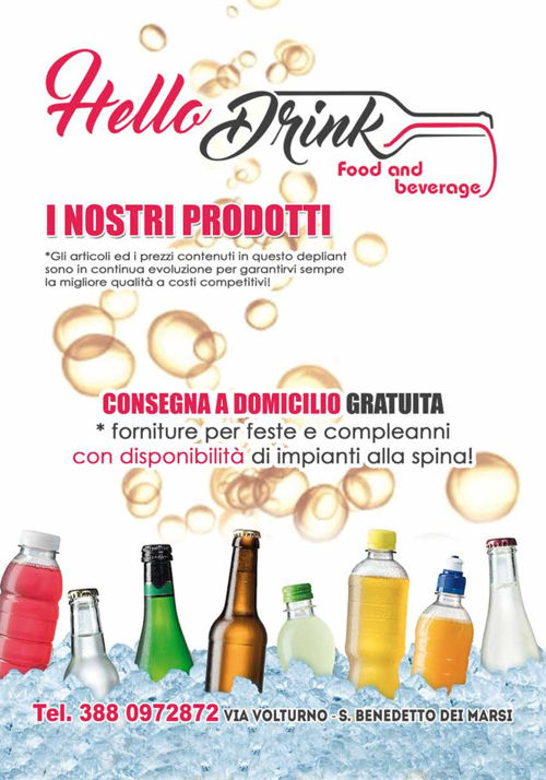 Hello Drink promo estate 2016
