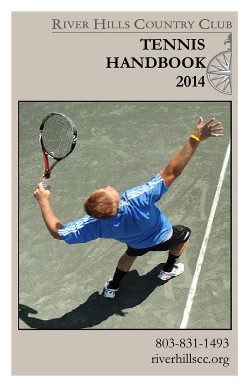 2014 Tennis Handbook