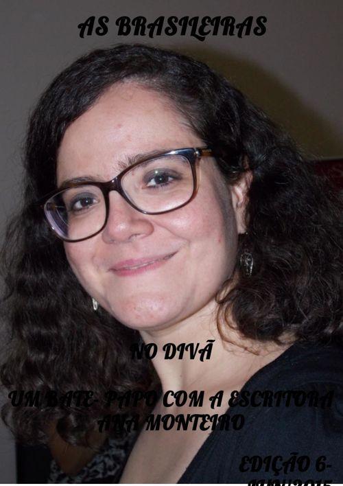 CLIPPING NO DIVÃ ESCRITORA ANA MONTEIRO