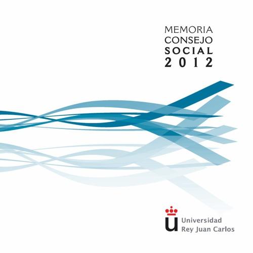 URJC_Memoria Consejo Social 2012