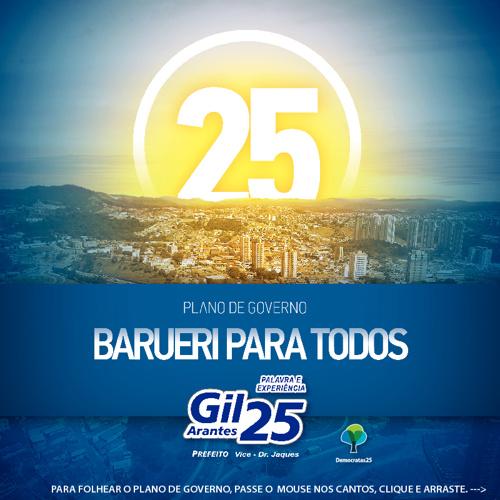 Plano de Governo de Gil Arantes - Barueri para Todos ::..