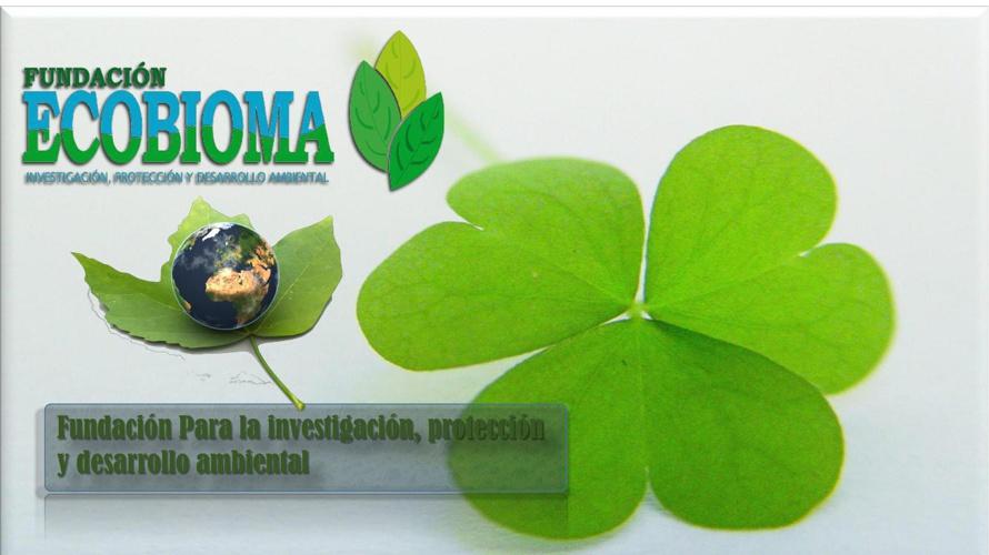 Brochure Fundacion Ecobioma pdf dicimbre 2014