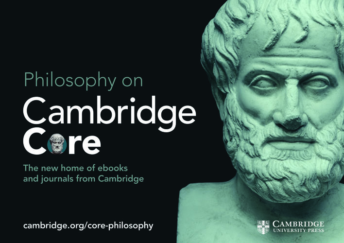 Cambridge Core Philosophy flyer 2017