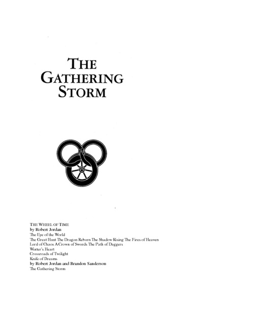 12. The Gathering Storm