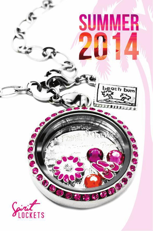 Spirit Lockets Summer Catalog 2014