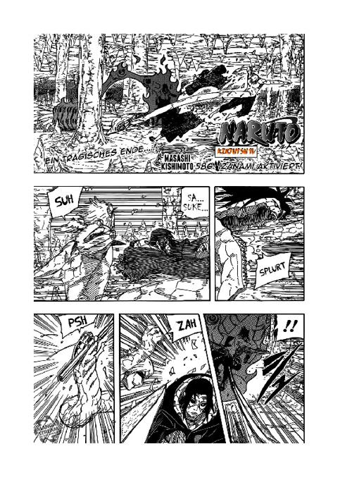 Naruto Shippuuden - Manga 586