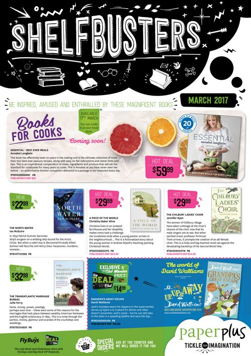 Shelfbusters March 2017 mailer