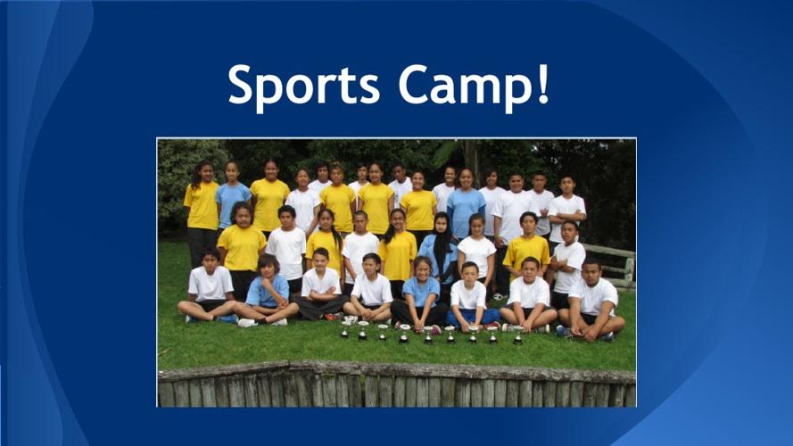Sports Camp 2013