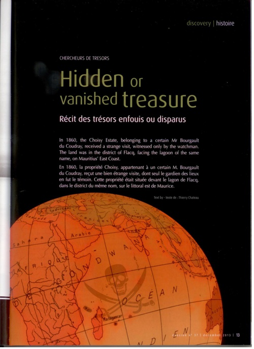 Hidden or Vanished Treasure