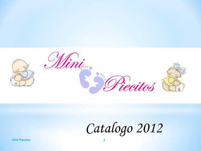 Catalogo Recuerdo 2012 Mini Piecitos