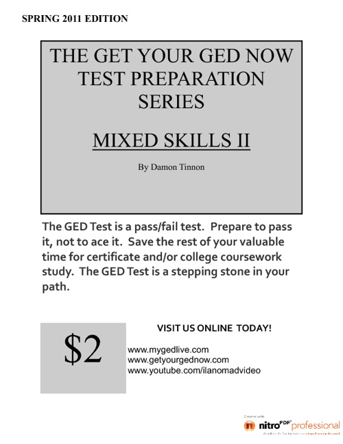 GYGNTPS - Mixed Skills Test