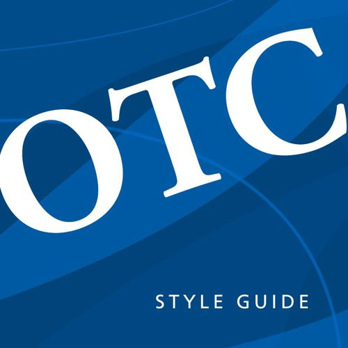 OTC Style Guide