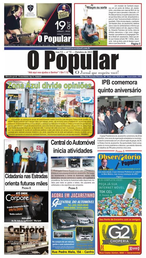 O Popular — O Jornal Que Respeita Você!