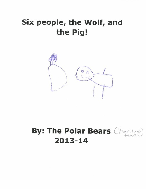 Six People, the Wolf, and the Pig!