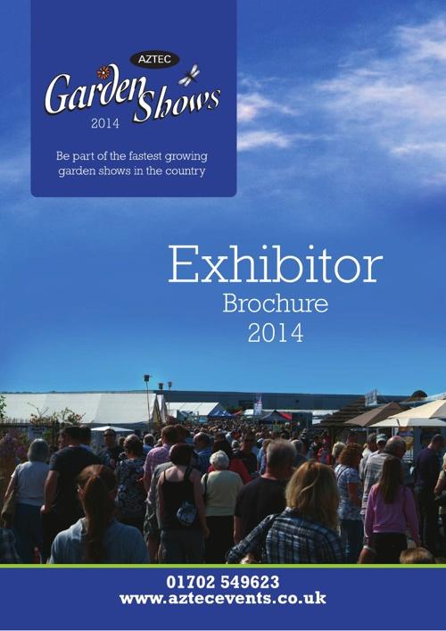 Aztec Garden Show Exhibitor Brochure