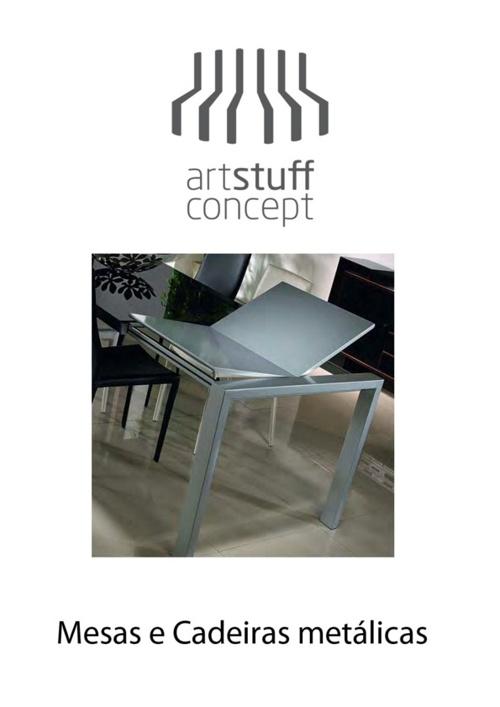 Artstuff - Mesas e Cadeiras Metálicas