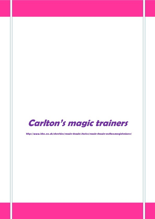 Carlton's magic trainers