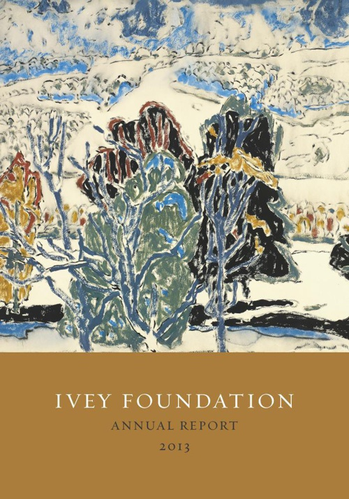 Ivey Foundation Annual Report 2013