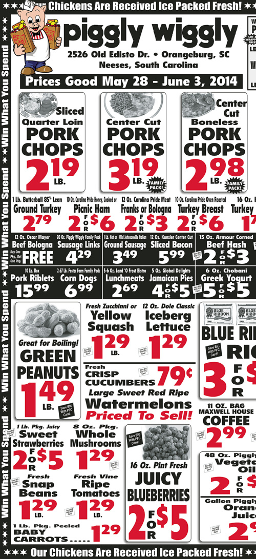 PW Weekly Ad: May 28th - June 1st