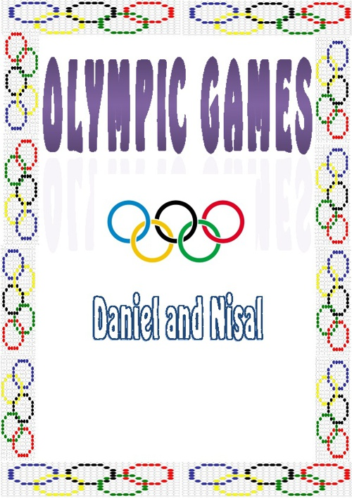 The Summer Olympic Games by Daniel and Nisal 6C