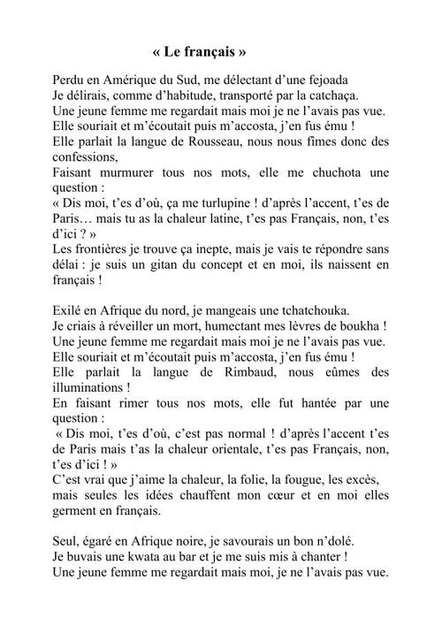 1O textes YOR Ale et Ale