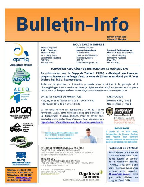 Bulletin-Info janvier-février 2016