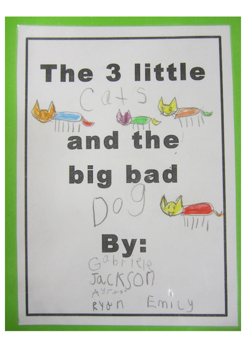 The 3 Little Cats and the Big Bad Dog