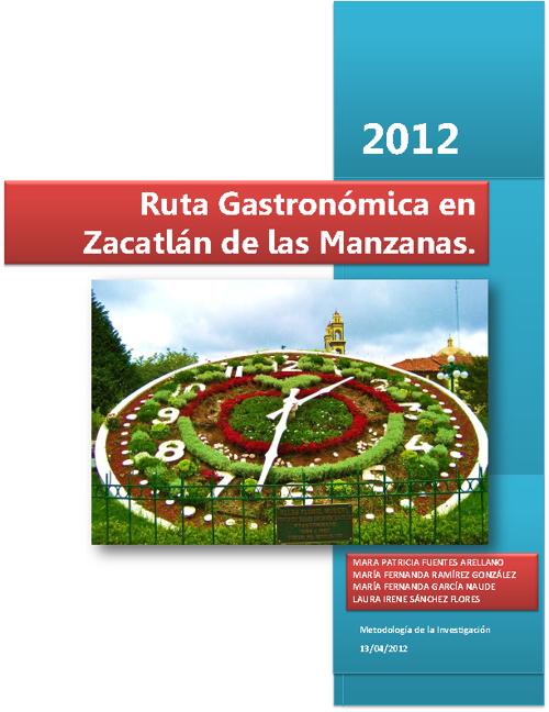 Ruta Gastronómica en Zacatlán de las Manzanas