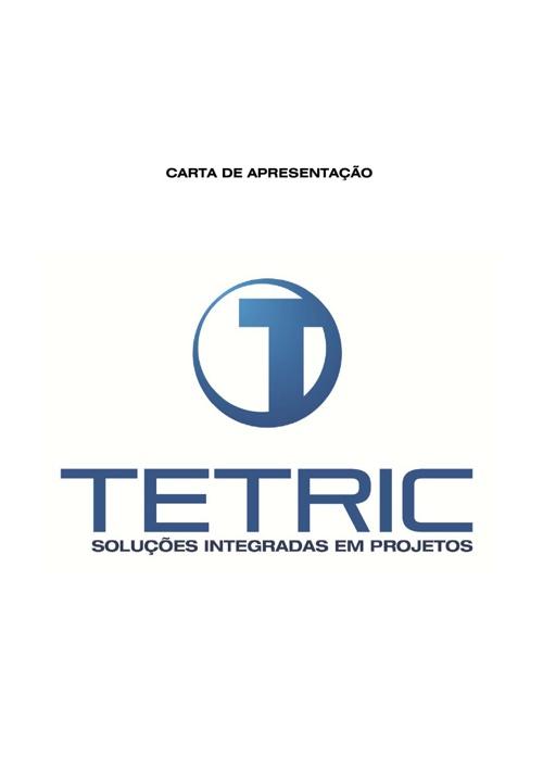 CARTA DE APRESENTAÇÃO TETRIC