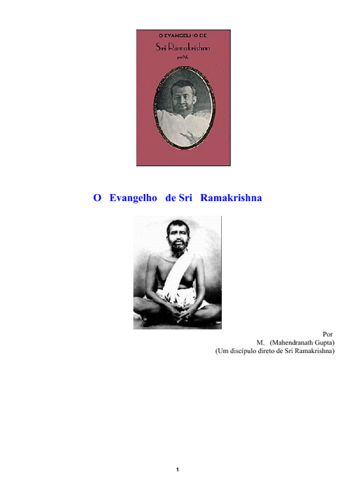 O Evangelho de Ramakrishna