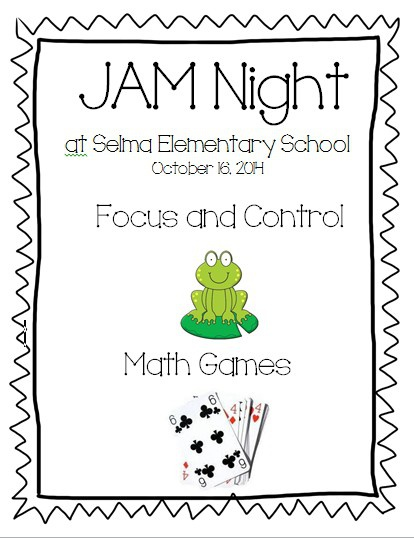 Jam Night- Math Games