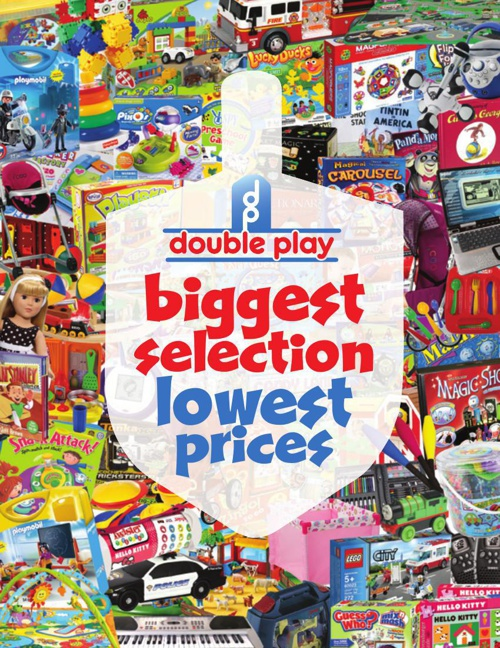 DOUBLE PLAY TOYS CHANUKAH SPECIALS