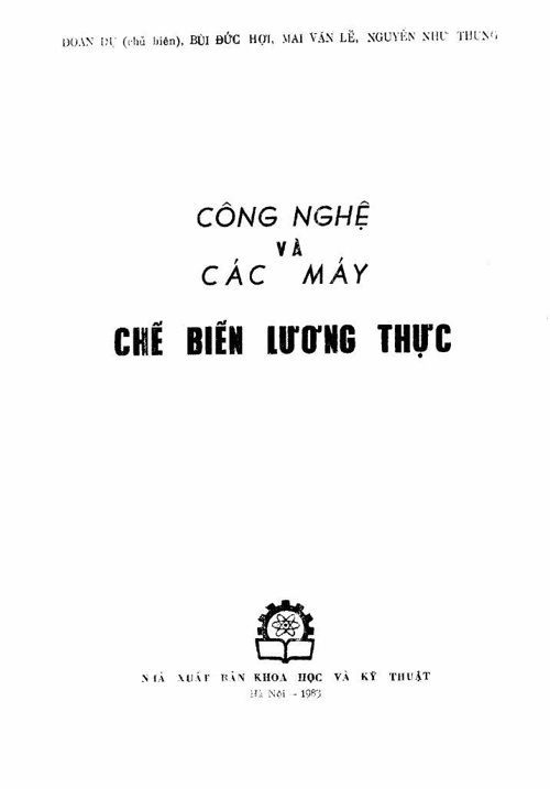 95_Cong nghe va cac may che bien luong thuc