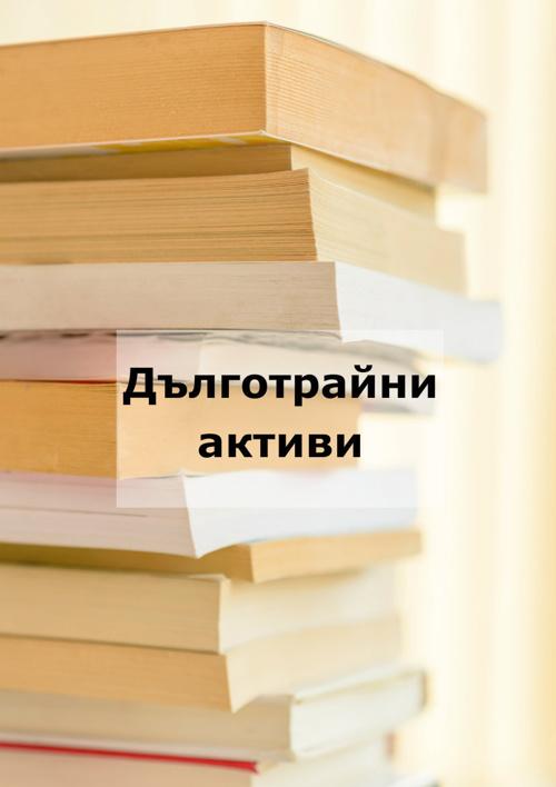 Copy of Copy of Дълготрайни активи