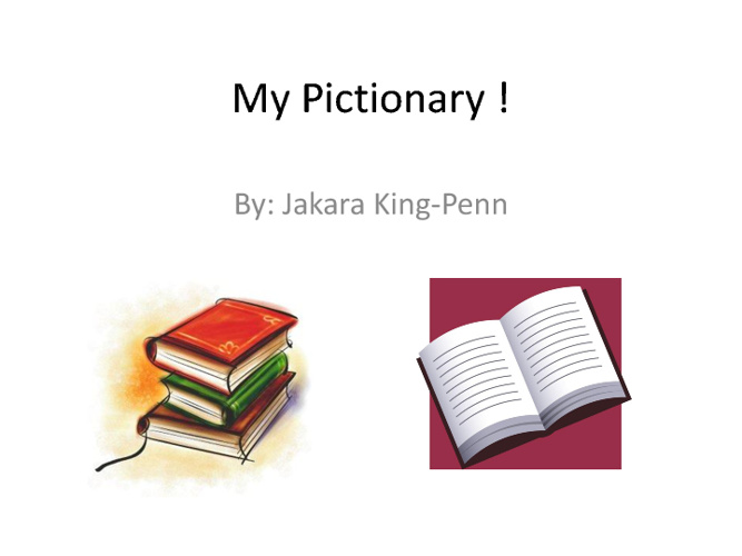 Jakara's Pictionary