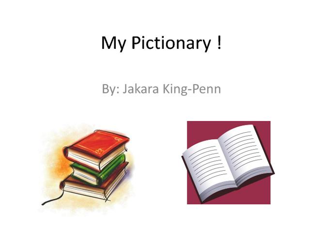 Jakara's Pictionary