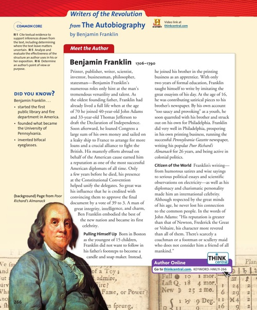 """The Autobiography of Benjamin Franklin"""