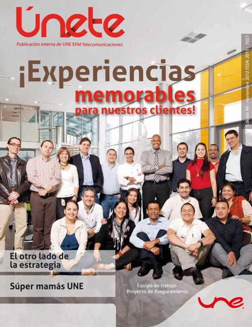 Revista Únete Edición #52 - Mayo de 2013