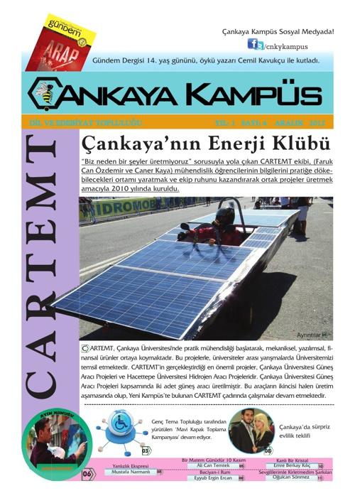 Çankaya Kampüs - Aralık / Ocak 2012 / 2013